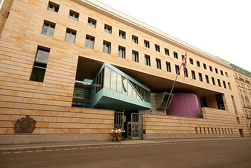 British Embassy In Berlin Architectuul