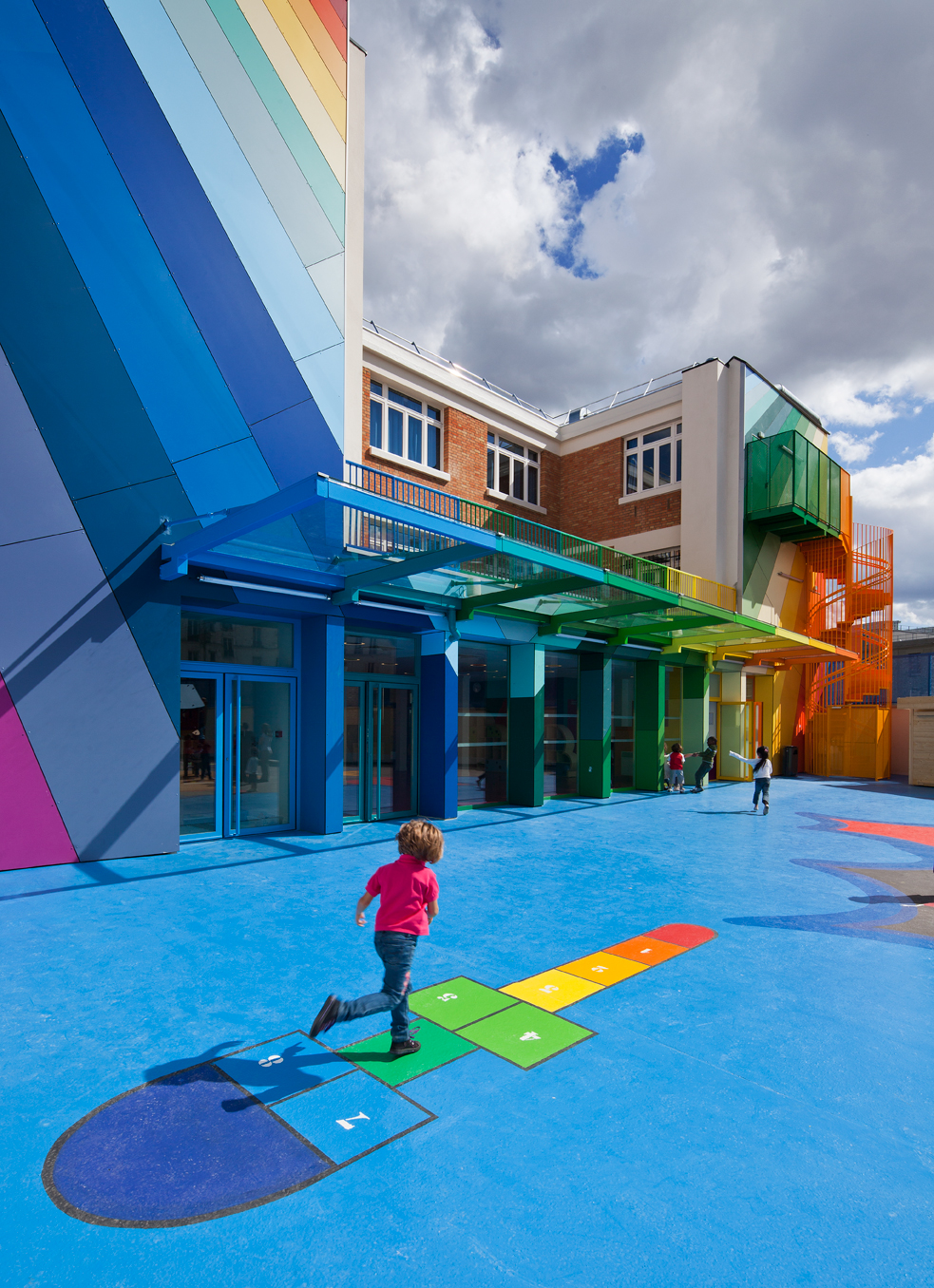 Playground Design Architecture Play Areas