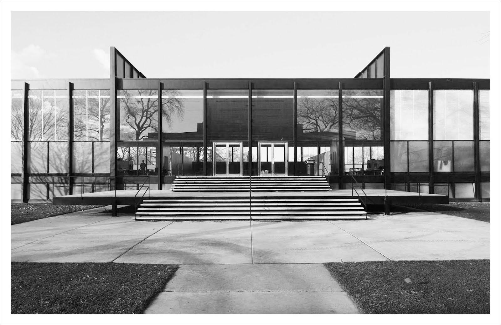 Mies Van Der Rohe Design Philosophy.Crown Hall Architectuul